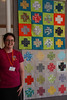 Holly with group charity quilts by hollybroadland