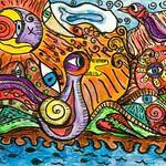 Celtic Duck by Barbara Hamilton