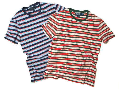 Ralph Lauren / S/S Multi Striped Tee
