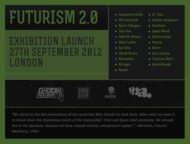 Futurism 2.0 Exhibition.
