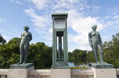 407 Parque Vigeland 20 julio - Oslo