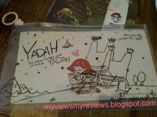 yadah on pouch