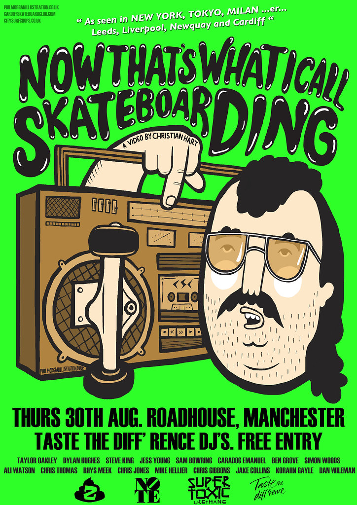 Now That's What I call Skateboarding Manchester premiere.