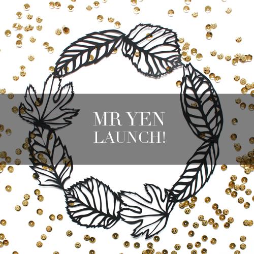 Mr Yen Blog Launch