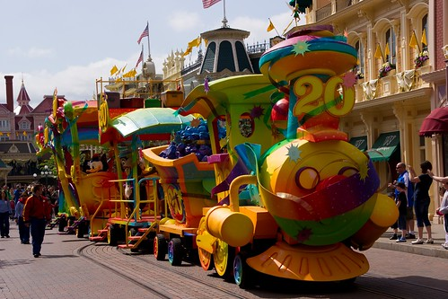 Disney's 20th Anniversary Celebration Train