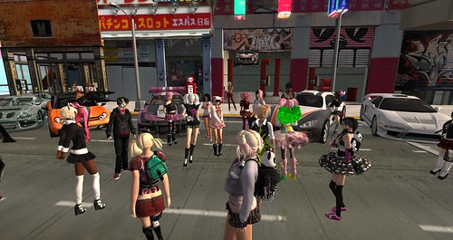Kawaii Street Party at Virtual Asia