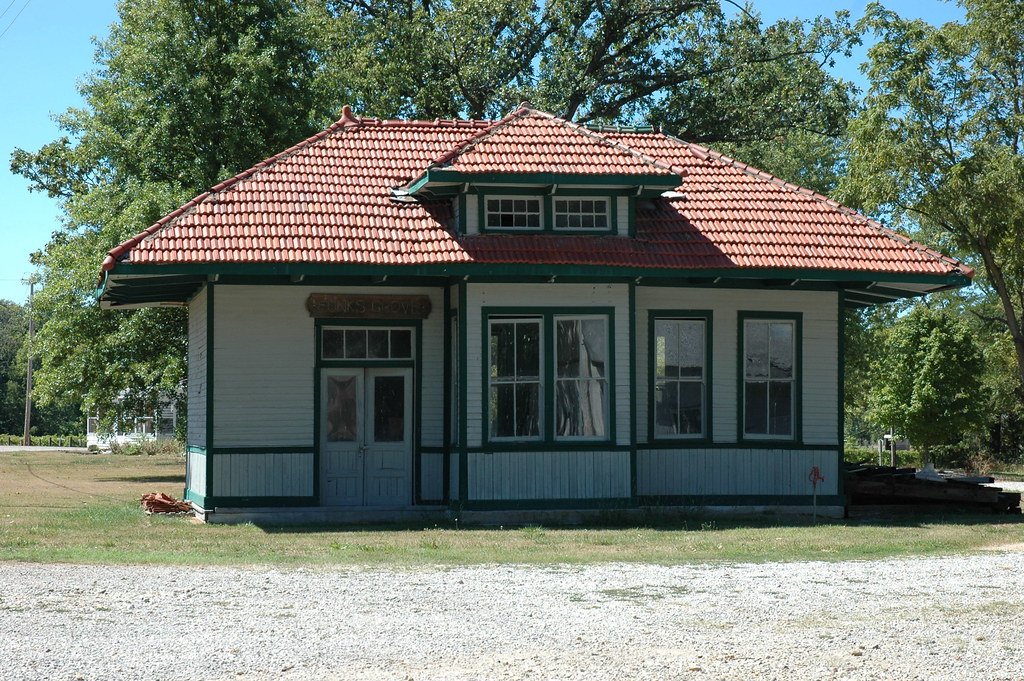 Funks Grove Train Depot, Funks Grove, IL