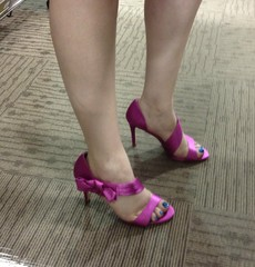 Shoes for a party - hot stuff!
