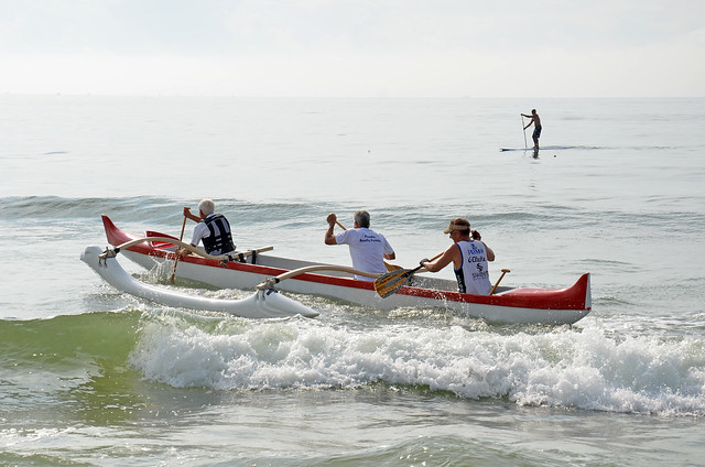 outrigger canoeing