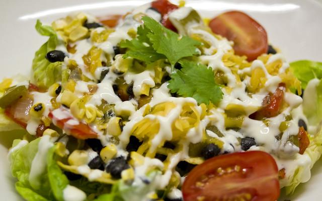 2012 08 19 taco salad flickr photo sharing. Black Bedroom Furniture Sets. Home Design Ideas