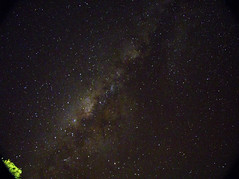 Testing new form to make Astrophotography - Milky way rising over Pasto - Colombia