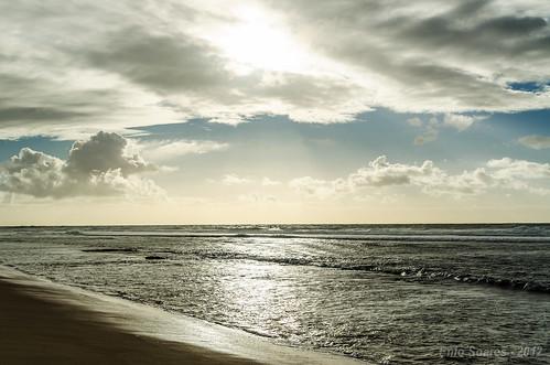 Amanhecer nas praias de São João da Mata