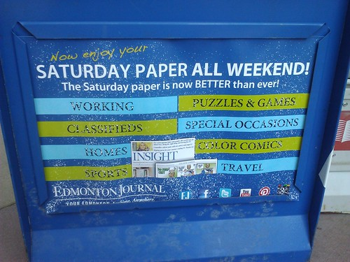 Saturday paper all weekend!
