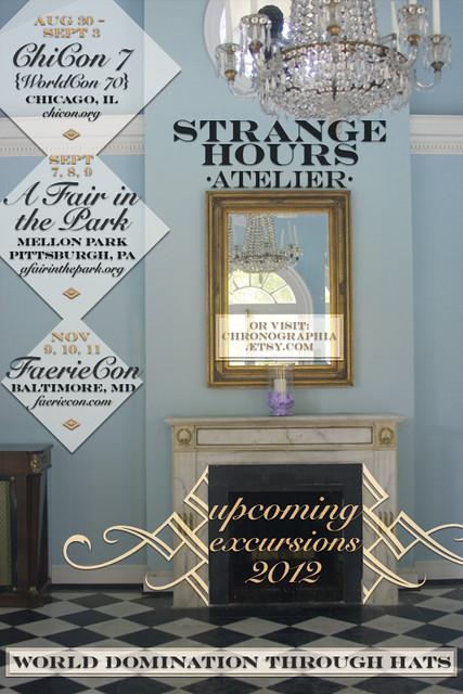 Strange Hours Atelier 2012 fall shows