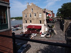 Savannah waterfront (Georgia, USA 2012)