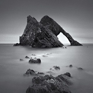 Bow Fiddle Rock (selenium toned)