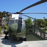 Nose - Nixon Helicopter - Richard Nixon Presidential Library and Museum