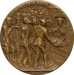 Lusitania medal obverse