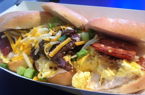 Ragin Cajun Breakfast Sliders: minnesota state fair food photo review