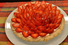 pavlova(0.0), pastry(0.0), produce(0.0), torte(0.0), strawberry pie(1.0), strawberry(1.0), baked goods(1.0), tart(1.0), fruit(1.0), food(1.0), dish(1.0), dessert(1.0), cuisine(1.0),