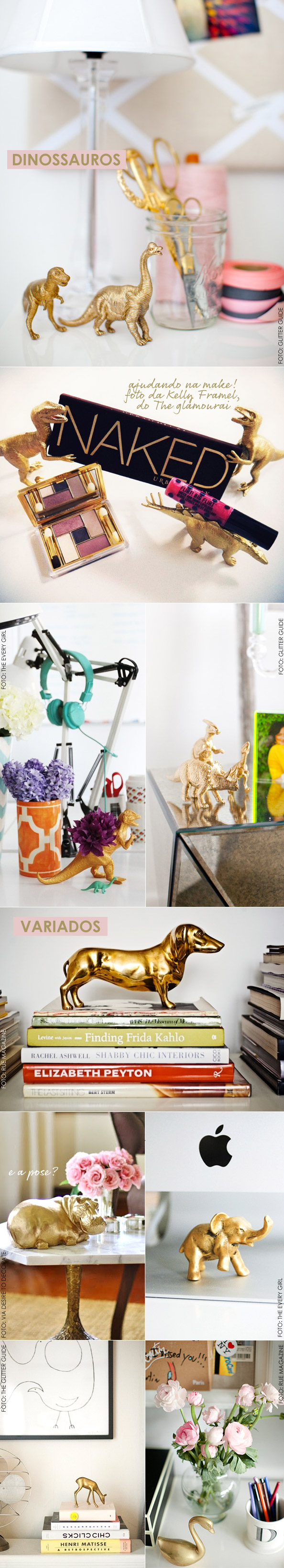 DIY: Spray Paint Plastic Animals