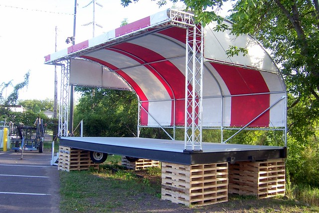 Festival Stage Canopy