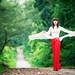 linh thuy` - ao' dai ` by ducnho2413