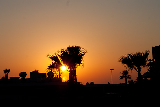Sunset in Paphos, Cyprus - Flickr CC pictureclara