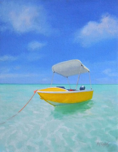 Yellow Boat- SOLD