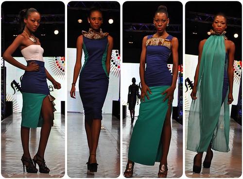 N'kya at Tigo Glitz Africa Fashion Week