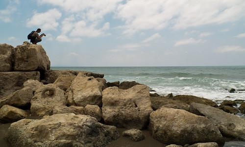 Espigó del port romà d'Antioquia