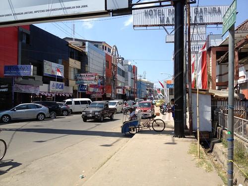 Makassar street scene by yoshjosh