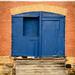 Old Factory Door by robin-loo