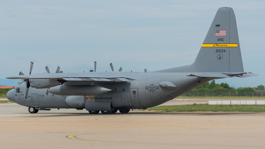92-1534 - C130 - Air Mobility Command