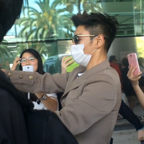 Big Bang - Jeju Airport - 19may2015 - TOP - heyomma - 01