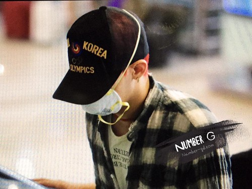 Big Bang - Gimpo Airport - 05jun2015 - G-Dragon - Number G - 04