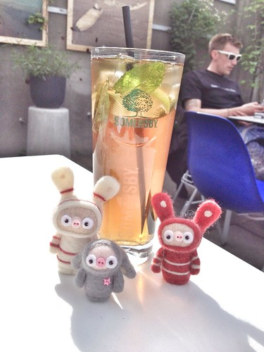 ice tea and bobbaloos