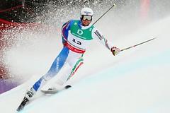 Davide Simoncelli utrpěl neobvyklé zranění při tréninku obřího slalomu