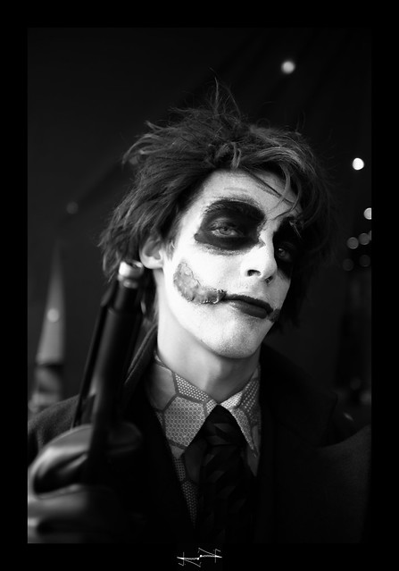 portrait joker batman