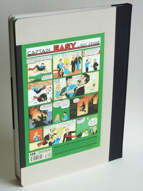 Captain Easy, Soldier of Fortune: The Complete Sunday Newspaper Strips Vol. 3 (1938-1940) by Roy Crane - back cover