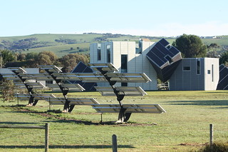 Zany solar power array