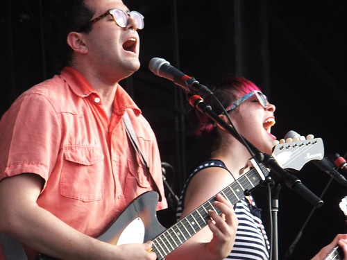Freelance Whales at Ottawa Bluesfest 2012