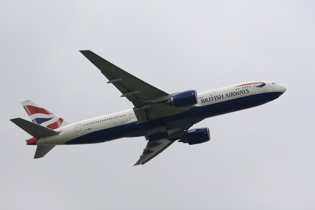G-YMMK - B772 - British Airways