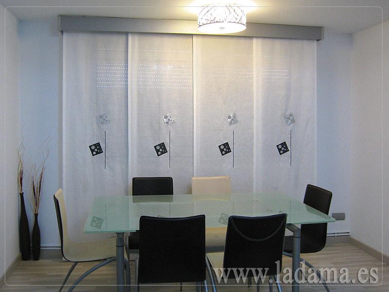 Fotos de cortinas instaladas en ambientes for Cortinas para salon comedor moderno