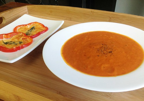 Roasted Capsicum Soup by mjd-s