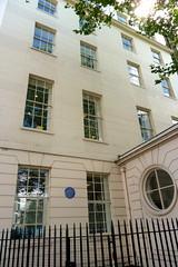 Photo of Randolph Churchill blue plaque
