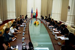 Secretary Clinton Meets With Chinese Foreign Minister Yang