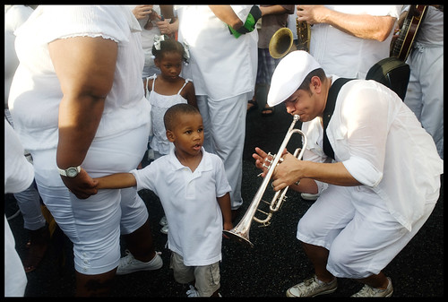 Uncle Lionel Batiste's Memorial Second Line. by Ryan Hodgson-Rigsbee