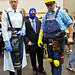 TF2 Blue Team at Comic Con