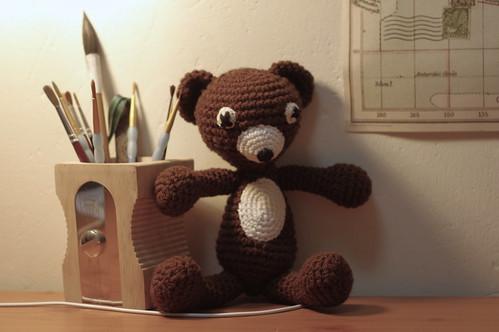 amigurumi #67 Ouch bear